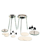 Disc ceramic membranes and disc holders