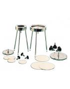 Porte-disques et membranes céramiques disques
